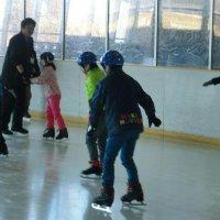 笠松運動公園でスケート学習を実施